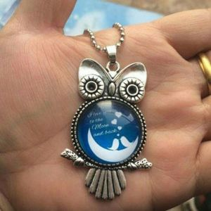 ❤NEW OWL I LOVE YOU TO THE MOON AND BACK